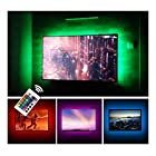 USB TV Backlight LED Bias Lighting Kit For 24″ to 60 Inch Smart TV Monitor HDTV Wall Mount Stand Work Space – TV Background Ambient Mood Lighting Decor