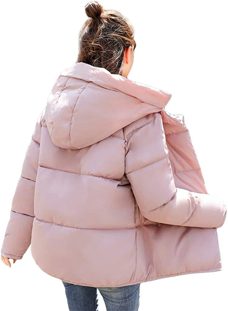 Dotoo Winter Cotton Clothing Womens Short Loose Cotton Coat Thick Warm Small Jacket