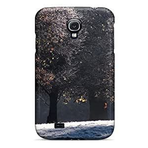 First-class Case Cover For Galaxy S4 Dual Protection Cover Floor Of Snow
