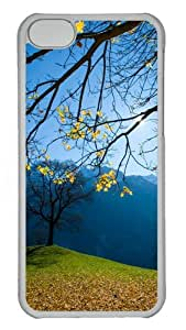 iPhone 5C Case Cover - Autumn Schachental Switzerland Custom Design PC Case for Apple iPhone 5C - Transparent