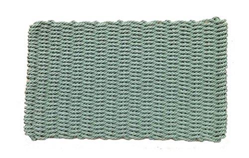 Fern Rectangular Handcrafted Doormat - Original (Estate: 30 in. W x 50 in. L) (Ferns Rug Brown)