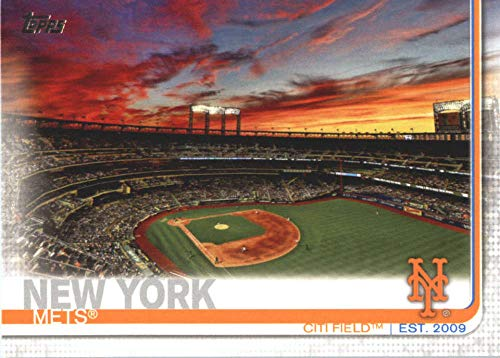 2019 Topps Series 2 Baseball #497 Citi Field New York Mets Official MLB Trading Card