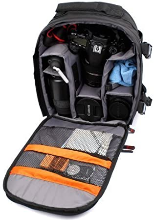 DURAGADGET Mochila Resistente Al Agua para SLR & Digital SLR ...