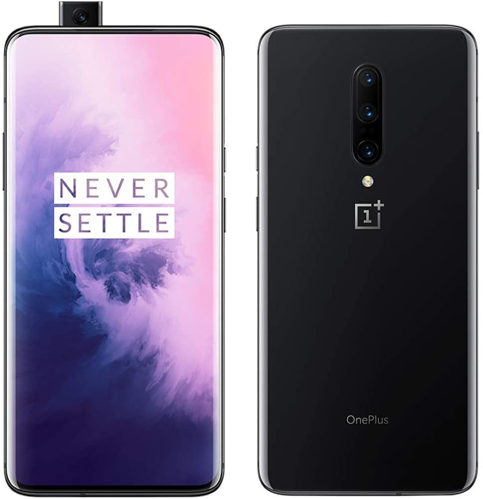 OnePlus 7 Pro US Model GM1915 8GB RAM 256GB ROM T-Mobile Unlocked Single SIM Mirror Gray (Renewed)