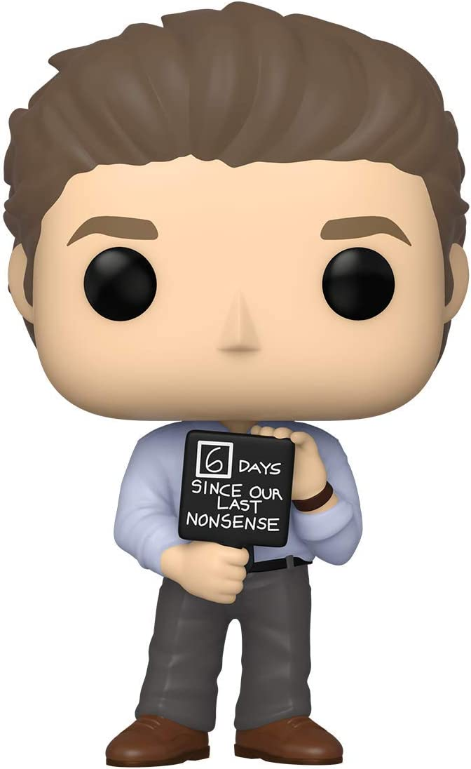 Funko Pop! TV: The Office - Jim with Nonsense Sign