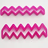 Chevron Fondant / Cookie Cutter For Cake Decorating icing Fondant