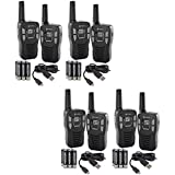 NEW! (8) COBRA CXT145 MicroTalk 16 Mile 22 Channel Walkie Talkie 2-Way Radios!