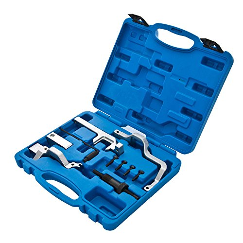 MOSTPLUS New Camshaft Alignment Timing Locking Tool Set for R55-56 BMW N12 N14 Mini Cooper Engine-10 Pieces by MOSTPLUS (Image #1)