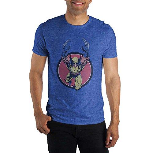 Marvel Xmen Wolverine Jump Mens T