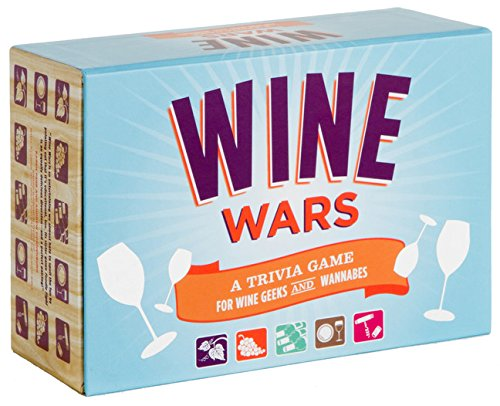 Wine Wars: A Trivia Game for Wine Geeks and Wannabes by Joyce Lock
