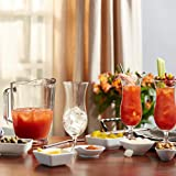 Libbey Modern Bar Bloody Mary Entertaining Set with