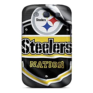 Casefactory Case Cover For Galaxy S3 - Retailer Packaging Pittsburgh Steelers Protective Case