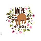 Tervis Sloth Nope Not Today Insulated Tumbler with