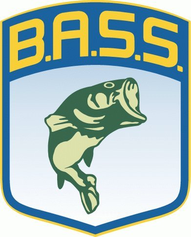 "BASS Fishing Bumper Sticker 4"" x 5"""