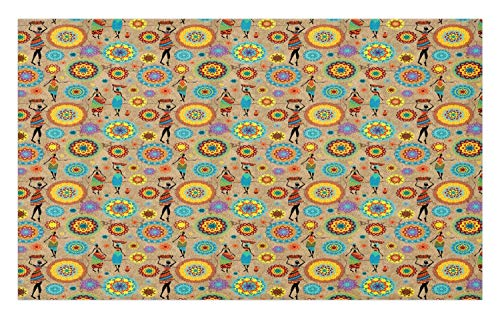- GugeABCmat Kitchen Floor Mats,Artwork Naked Man with Castles in The Background Italian,Outside Door Mats 35