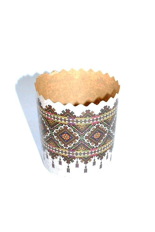 Amazon.com: Pan de Pascua papel de horno formas