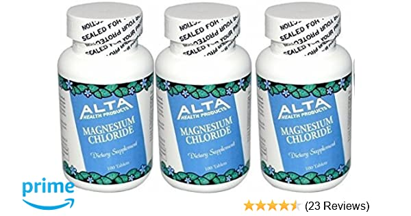 Amazon.com: Alta Health Magnesium Chloride (300 tablets): Health & Personal Care