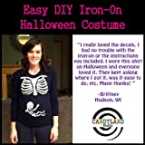Pregnant Skeleton DIY Iron-on