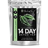 Slim Leaf Tea — 14 Day Tea Detox for Weight Loss and Digestive Health – Appetite Suppressant – Anti Gas and Bloating – Herbal Cleanse for Intestinal Health (14 tea bags – 3g ea) Review
