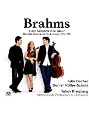 Johannes Brahms Violin Concerto In D Op. 77 Double Concerto In A Minor Op. 102