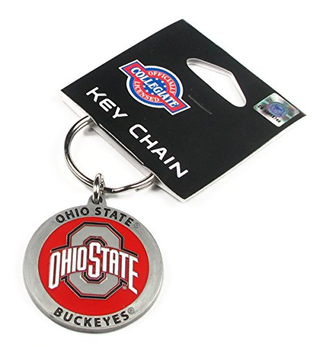 (College Team Logo Key Ring - Ohio State Buckeyes)