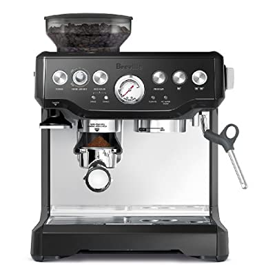 Breville BES870BSXL The Barista Express Coffee Machine, Black Sesame from Breville