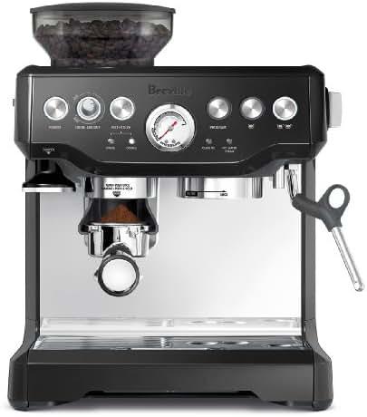 Breville BES870BSXL The Barista Express Coffee Machine, Black Sesame