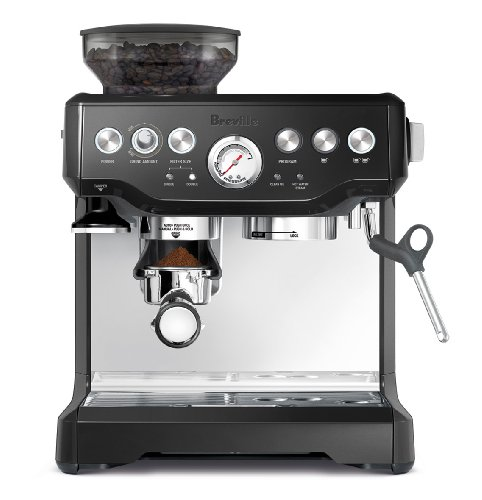 Breville BES870BSXL The Barista Express Coffee Machine, Black Sesame Auto Espresso Machine