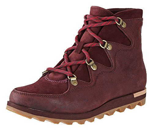 Alpine Leather Boot (SOREL Women's Sneakchic Alpine Redwood Boot)