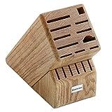 Cheap Wusthof Oak 17-Slot Knife Storage Block