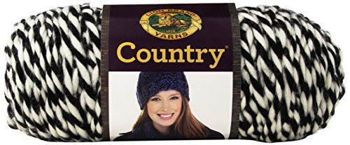 Lion Brand Yarn 134-200 Country Yarn, White Mountains