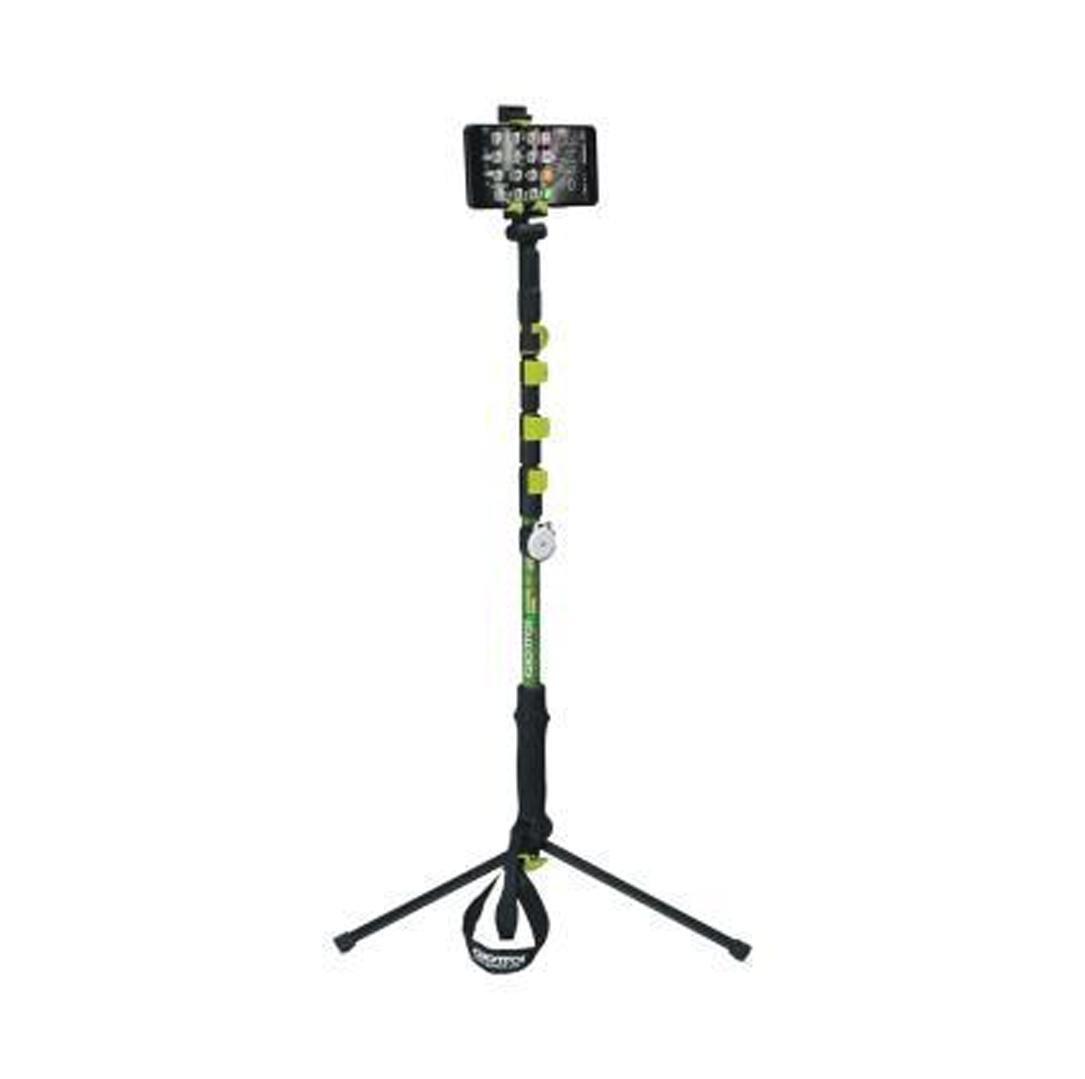 mengyz Bluetooth de Cámara de trípodes cuentan con teléfonos Bastones de trekking telescópico de aluminio 1pc: Amazon.es: Deportes y aire libre