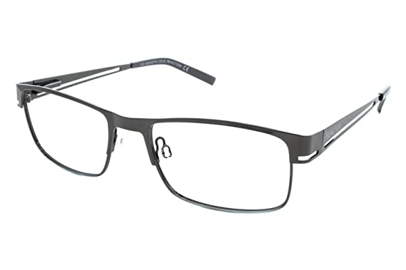 kenneth cole new york kc0697 eyeglass frames matte gun metal frame 54 mm lens