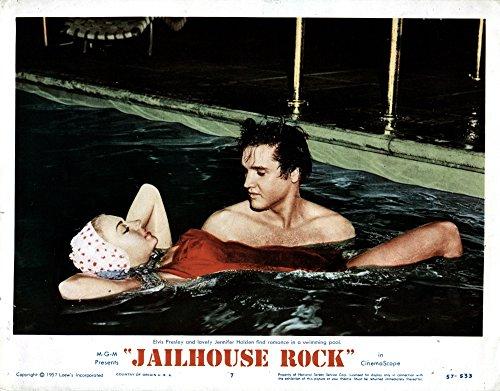 - Posterazzi EVCMMDJAROEC009 Jailhouse Rock Movie Poster Masterprint, 14 x 11