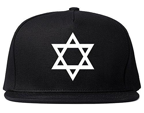 Star Of David Chest Snapback Hat Cap Black for $<!--$14.99-->