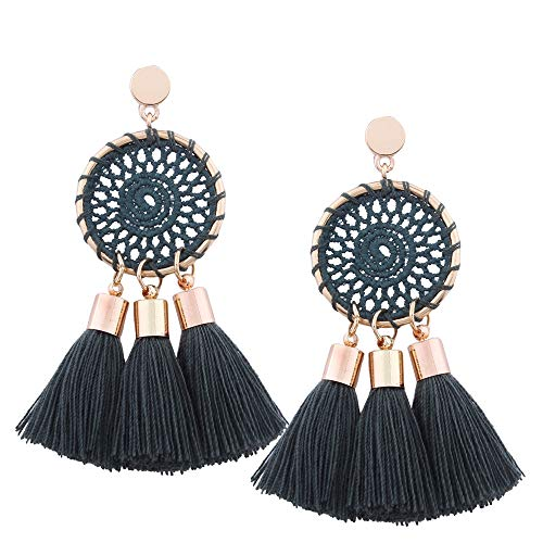 Gbell Ladies Bohemian Tassel Earrings - Shining Long
