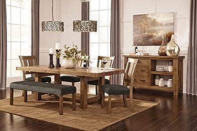 Ashley Furniture Signature Design - Tamilo Dining Chair - Set of 2 - Dark Brown