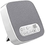 White Noise Machine for Best Sleeping Environment, Sleep Sound Machine with 7 Modes Non-Looping Natural Relaxing Soothing Sounds for Baby Adult Traveler, Portable for Home Office Travel. Built in USB