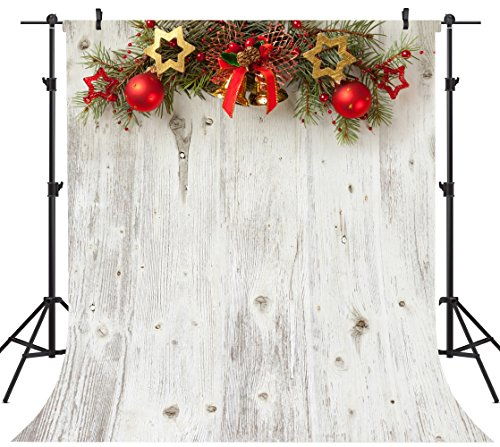 OUYIDA 10X10FT Seamless Christmas Theme Pictorial Cloth Customized Photography Backdrop Background Studio Prop SD128