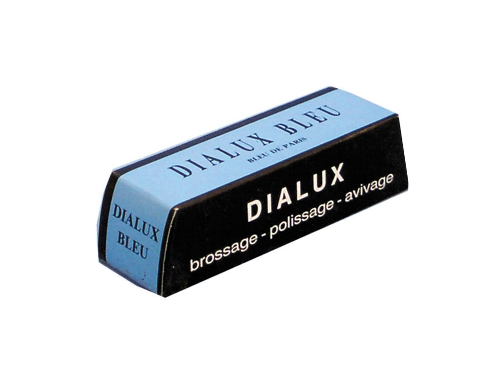 One Bar of Blue Dialux (Blu) Jewelers Polishing Compound Rouge - Paste 4336839635
