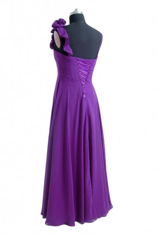 DaisyFormals A-line Bridesmaid Dress Long Chiffon Formal Dress W/Straps(BM2454L)