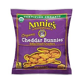 Annie's Organic Bunny Cheddar Snack, 100Count
