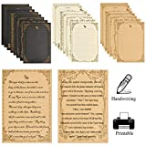 OFNMY 9 Sets of Vintage Stationary Paper