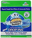 Vanish Drop-ins Automatic Toilet Bowl Cleaner, Blue Tablets, 2 ct