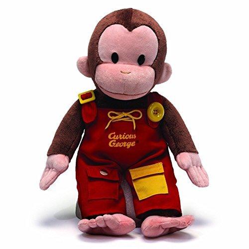 Curious George Doll - GUND Curious George Teach Me Plush