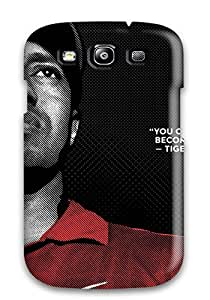 Unique Design Galaxy S3 Durable Tpu Case Cover Tiger Woods
