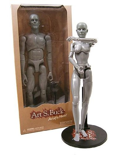 Side Show Collectibles Art S. Buck Artist's Model female
