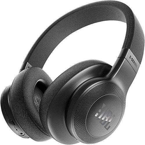 JBL E55BT Over-Ear Wireless Headphones Black (Renewed)