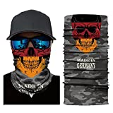 Face Mask Cycling Motorcycle Head Scarf Neck Outdoor Sun Protection for Independence Day (GGG)