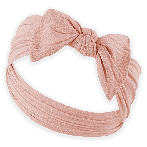 YOUR NEW FAVORITE BABY HEADBANDS - Super Stretchy Knot Baby Headband For Newborn Headbands and Baby Girls Headbands (Bling Bow)